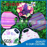 Wholesale Cheap Washable Camo Zebra Stripe Fruit insulated Clear CoolerThermal Sublimation School Kids Neoprene Lunch Bag
