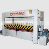 120T veneer laminate press machine
