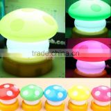 light up mushroom toys for kids, custom make plastic electronics LED TOYS, Plastic LED light up toys