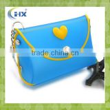 Promotional silicone ladies purse for gifts