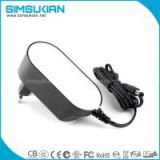 12V 2.4A EU adapter from simsukian with CE