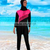 Muslim Lady Swimwear Swimsuit Full Cover Islamic Beachwear Arab