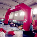 Red Giant Outdoor Event Supplies Inflatable Arch for Custom