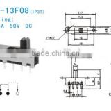 SS-12F08 Slide Switch