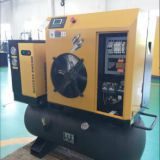 Integrated Packaged Screw Air Compressor (with tank & dryer)    4-11kw