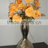 Aluminium Flower Vase Nickle Plated