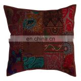 Whoesale Latest Design Sari Patchwork Sofa Cushion Covers