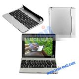 New KM6 Magnetic Side Flip Bluetooth 3.0 Keyboard for iPad