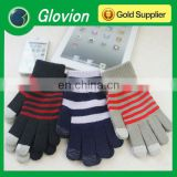 Warm touch screen gloves for phone ipad keep warm in the winter