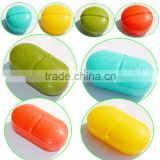 Hot sales colorful plastic pill box,pill case,vitamin box