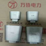 JXL wedge type clamp insulation wire clamp grounding clamp