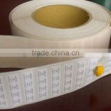 High temperature barcode label/ polyimide labels/ blank barcode label