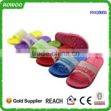 Latest fashionable kids sport slide slippers kids slippers to decorate