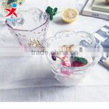 glass Ice Cream Cups/European styleDessert glass cup of pudding cup