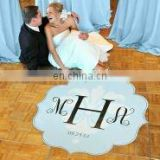 Modern Love Wedding Dance Floor Decals