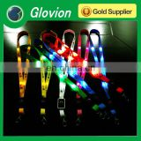 Glovion Custom Lanyard with card holder for exhibition led flashing lanyards ultra-high-bright led light lanyard