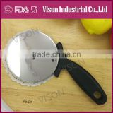 hot sale stainless steel pizza cutter (v525)