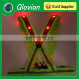 NEW led safety vest led lighted safety vest fashion safety vests