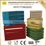 FSC custom wooden crates shipping wholesale
