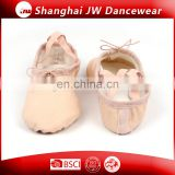 Wholesale foldable ballet shoes soft canvas dance shoes