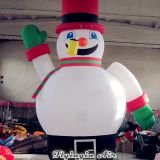 Giant Outdoor Advertising Inflatables Christmas Snowman for Decoration