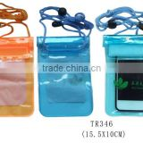 PVC Mobile Phone protective bag Phone Dry Case Cover Underwater Pouch Bag