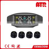 Reliable performance imported solar panel car tire pressure monitoring system