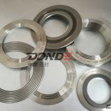 spiral wound gasket with inner and outer ring 304ss