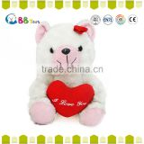 Factory direct Valentine's Day Plush Toy / Red Heart Teddy Bear For Valentine's Days