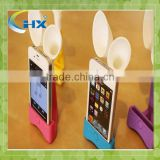 good design and cheap silicone speaker for iphone/silicone speaker for iphone/speaker
