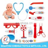 Hot selling educational medical toys kids playing doctor stories