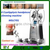 2016 New Generation & Stable Quality MSLCY01-i Cryo Cold Increasing Muscle Tone Laser / Cryolipolysis Fat Removal Machine / Cryolipolysis Weight Losing Cellulite Reduction