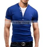 V-Neck Slim Men T-Shirt
