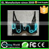 LED Brassiere / Light Up Bra and Panty / Club & Bar Dance Dress