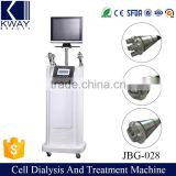 Professional manufacturer rf facial cell dialysis machine wrinkle removal for salon use