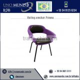 Corrosion Resistance Best Grade Salon Waiting Chair at Affordable Rate