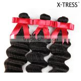 New Arrival 100% Natural Brazilian virgin Deep Wave Human Hair Extension
