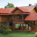 prefabricated wooden bungalow