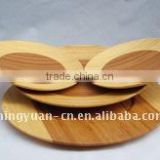 bamboo flat kitchen-used dishes