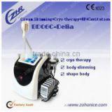 BD06C 3 in 1 vacuum RF roller +cavitation slimming beauty celulite equipment