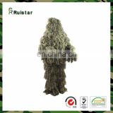 Customized good woodland ghillie suit from china