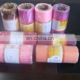 2015 best selling colorful organza fabric roll flower gift wrapping organza roll