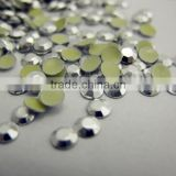 crystal Octagon beads China quality Aluminum Gold 3mm Rhinestud Hot Fix Octagon