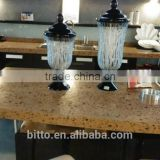 100% Pure acrylic solid surface artificial stone slab for countertop verified by NSF GSG ISO