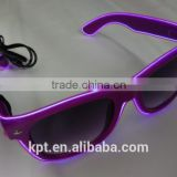 high quality performance EL wire glasses for different colors