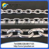 Hot Dip Galvanized Ordinary Short Link Chain And Standard Medium steel link chain