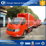 Foton 6 wheeler small refrigerated van,reefer container truck, foton small van trucks for sale