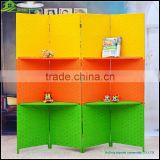 Decorative Folding Screen paper rope wooden folding screen picture frame folding screen GVSD 013