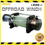 Strong and durable 6124 kg/13500lbs winch with comes with steel and galvanized fairlead
