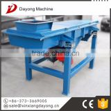 DAYONG brand free $200 coupon corn carbon steel large capacity linear vibration screen/separator